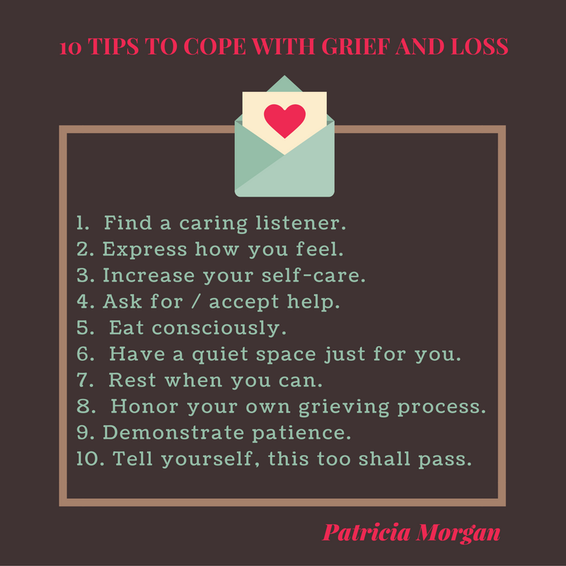 Image of 10 Tips to Cope With Grief and Loss by Patricia Morgan