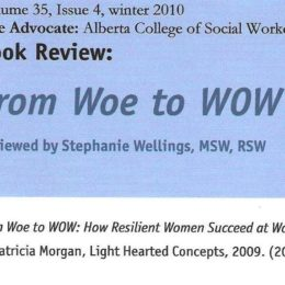 Book Review: From Woe to WOW by The Advocate