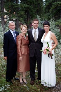 In-laws at a wedding