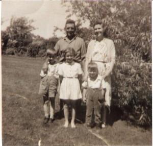 Ted, Mary, Jamie, Patsy & John McLaughlin