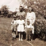 Black and white image of an old family photo - do you have any unhealed childhood wounds?