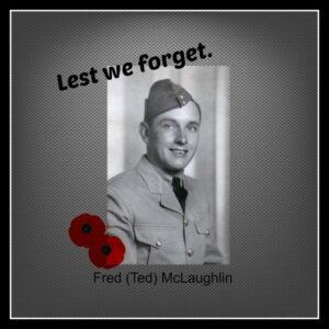 Ted McLaughlin, Canadian veteran