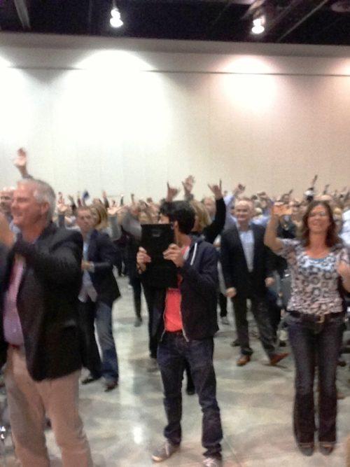 Tony Robbins' event