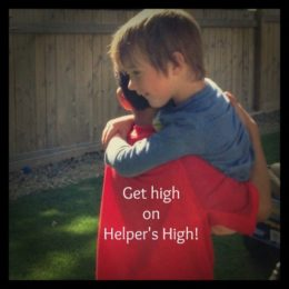 Get high on helping