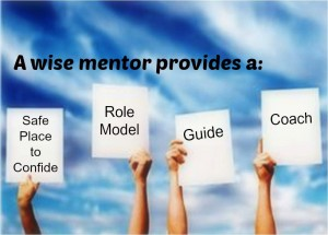 Wise mentors provide