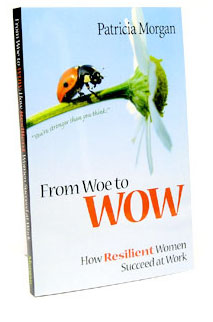 Image of from Woe to WOW book cover by Patricia Morgan