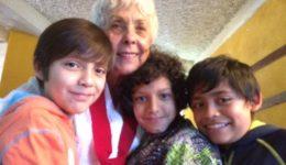 Vera Goodman and children