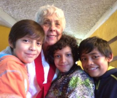 Vera Goodman and children