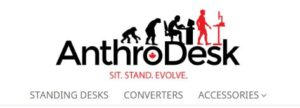 Anthrodesk, a desk for standing