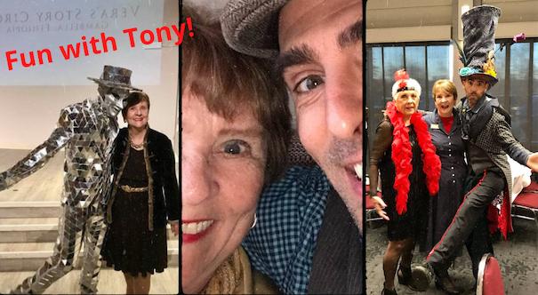 Patricia with Tony Esteves