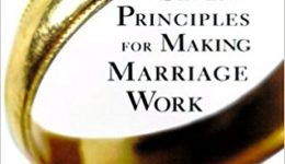 Cover The 7 Principles for Making Marriage Work