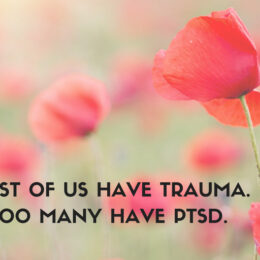 Most of us have Trauma