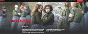 Netflix movie, Suffragette