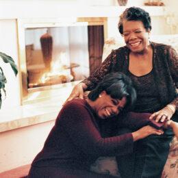 Ophra and Maya Angelou