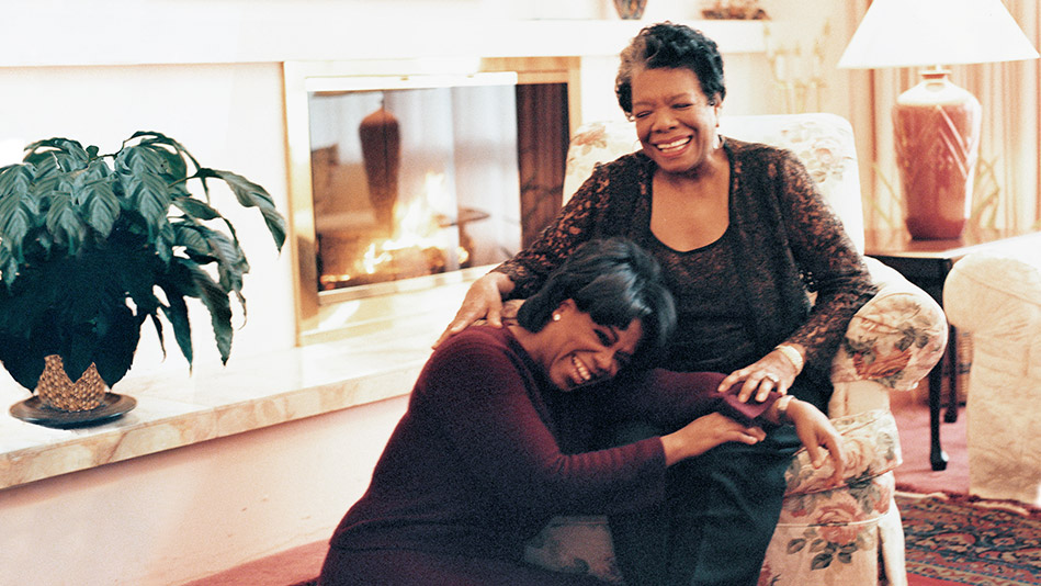 Ophra and Maya Angelou