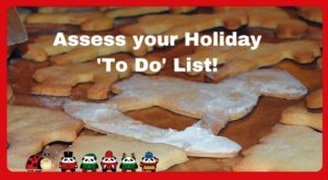 Picture of Christmas cookies cooling on a table - What's on your Holiday 'To Do' list?