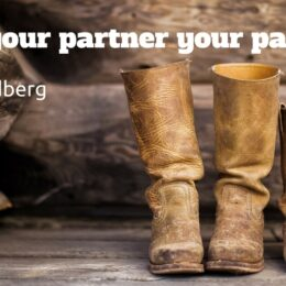 treat your partner like a parnter