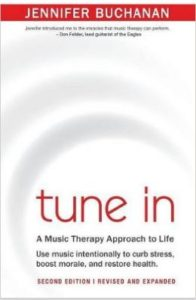 Image of Tune In book cover by Jennifer Buchanan