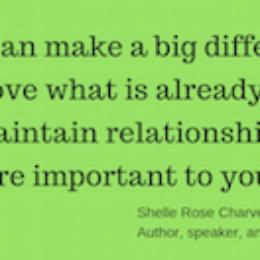 Shelle Rose Charvet quote