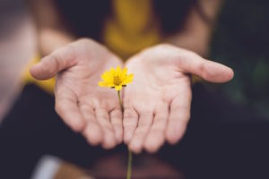 open hands to forgive