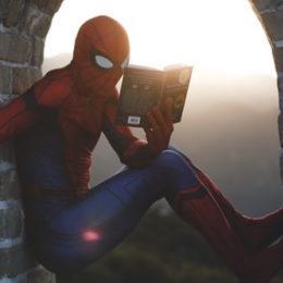 hero reading story
