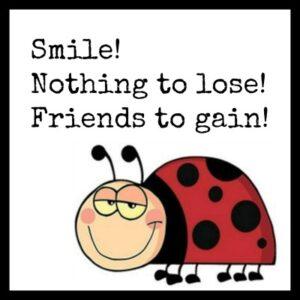 ladybug with Smile!